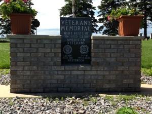 Veteran's Memorial, Emanuel Lutheran (Rose Hill) Cemetery